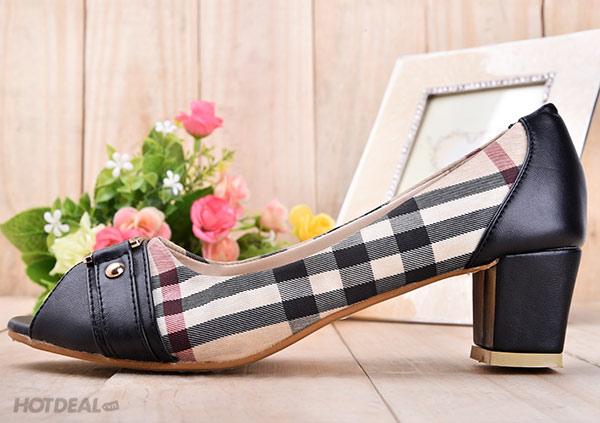 Giày Thời Trang BB Màu Đen