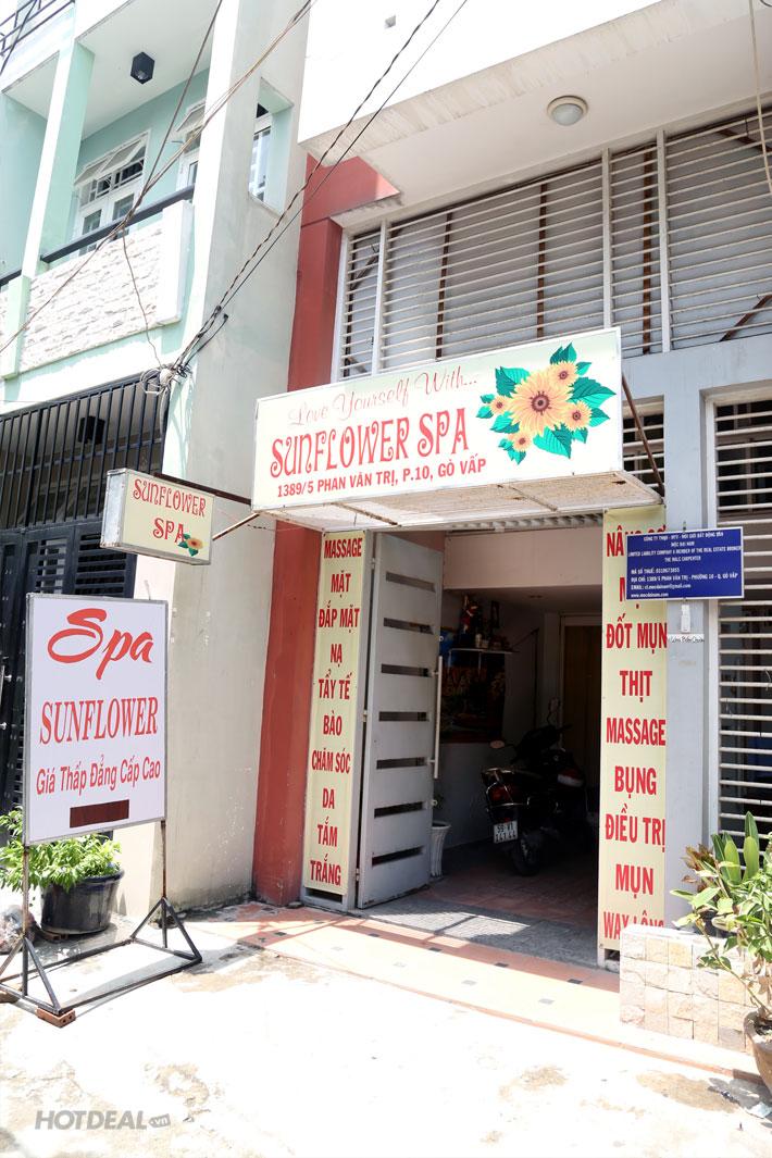Massage Đánh Tan Mỡ Bụng Eo Thon Tại SunFlower Spa