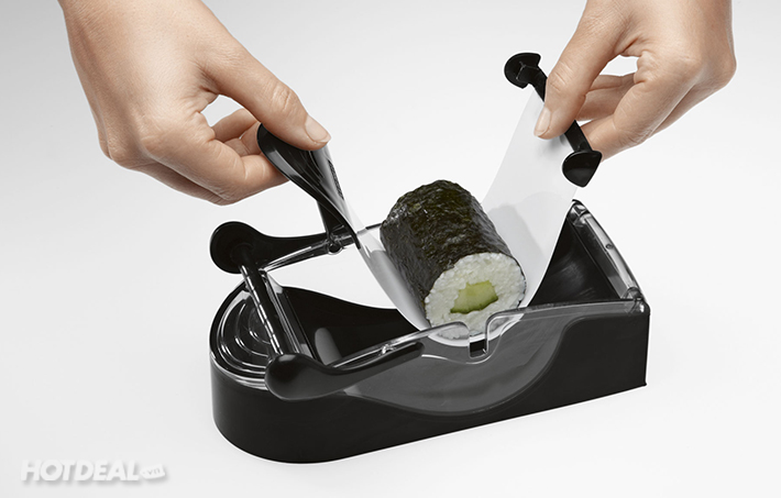Combo Bộ Cắt Trái Cây Popchef Và Dụng Cụ Làm Sushi Siêu Tốc