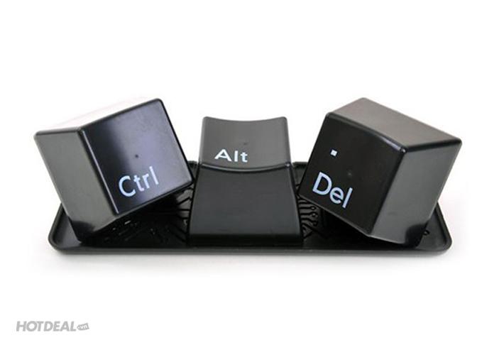 Cốc Bàn Phím Ctrl + Alt + Del Độc Đáo