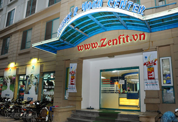 ZenFit - Thẻ Tập Gym + Zumba, Fitdance + Xông Hơi 1 Tháng
