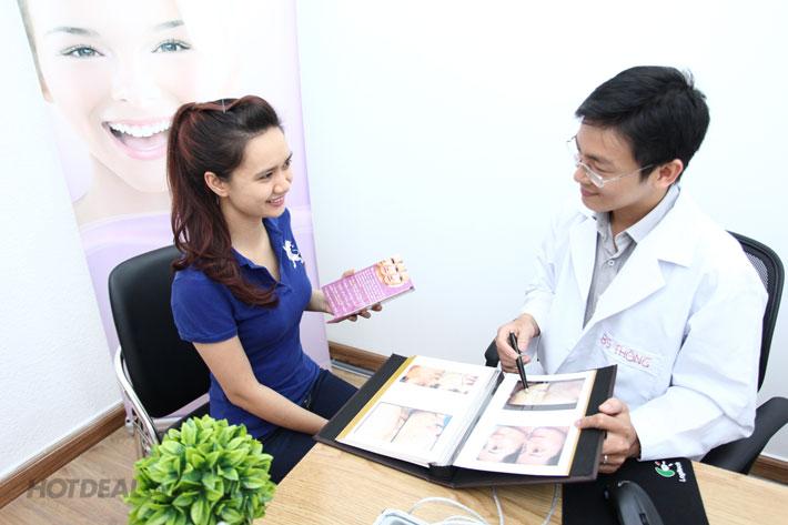 Chăm Sóc Da Mặt/ Vùng Mắt Chuyên Sâu Với Bác Sỹ Thông