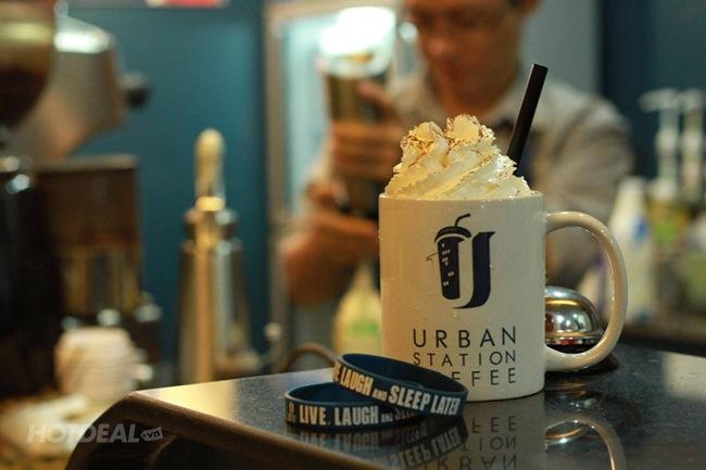 Urban Station – Trạm Dừng Chân Thưởng Thức Café Take Away Hiện Đại