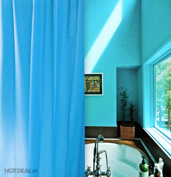 Rèm Treo Phòng Tắm Màu Trơn 180-180Cm