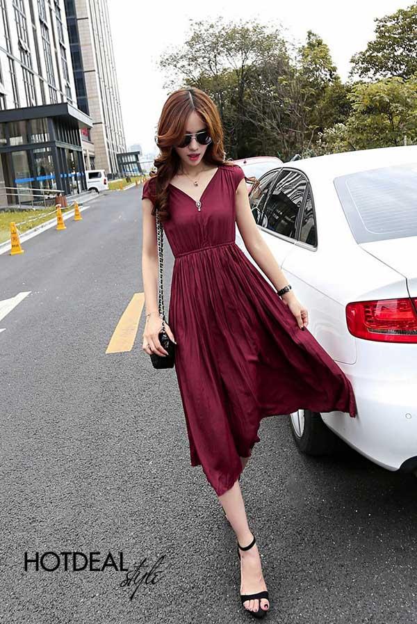 Đầm Vintage Dạo Phố