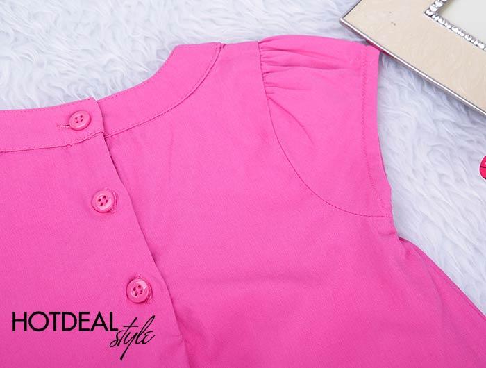 Đầm Baby Hoa Pinky