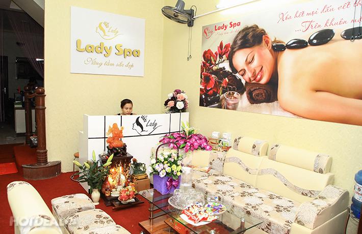 Hút Mụn Cám, Làm Sạch Da Dầu Và Đắp Mặt Nạ Tại Lady Spa
