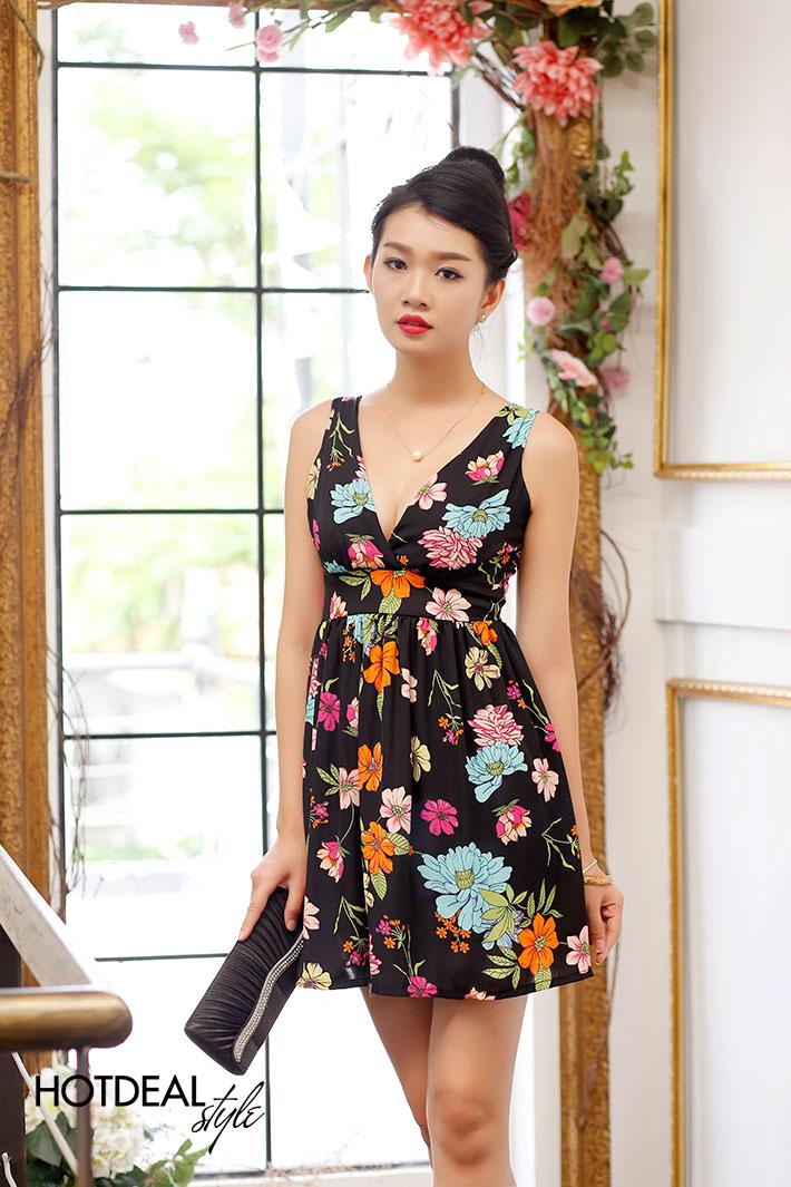 Đầm Hoa Jeci