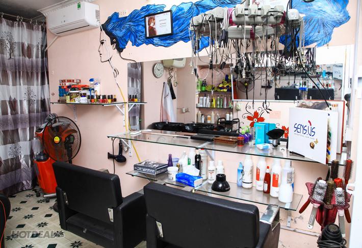 Combo Gội + Cắt + Hấp + Dưỡng Tại H&H Hair Salon.