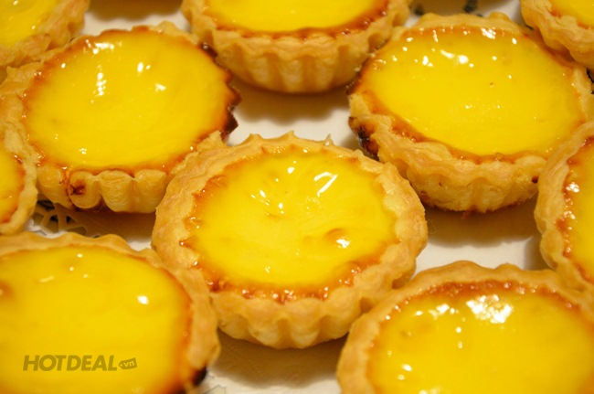 Combo 05 Bánh Tart Trứng HongKong Ngon Bổ Rẻ - Wooaah Bakery&Catering