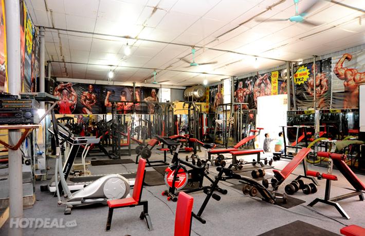 1 Tháng Tập Gym Không Giới Hạn Tại TK Gym Club