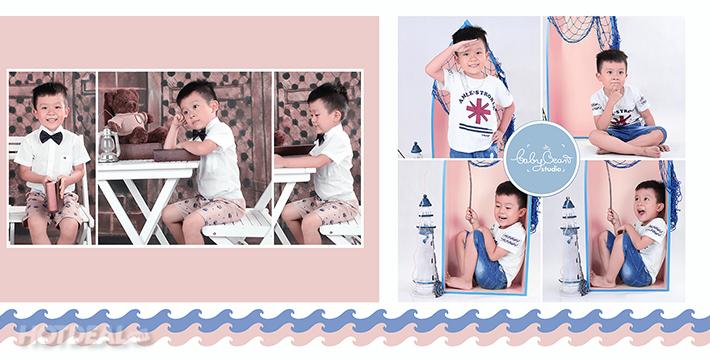 Trong Trẻo Ảnh Bé Yêu – Baby Bean Studio