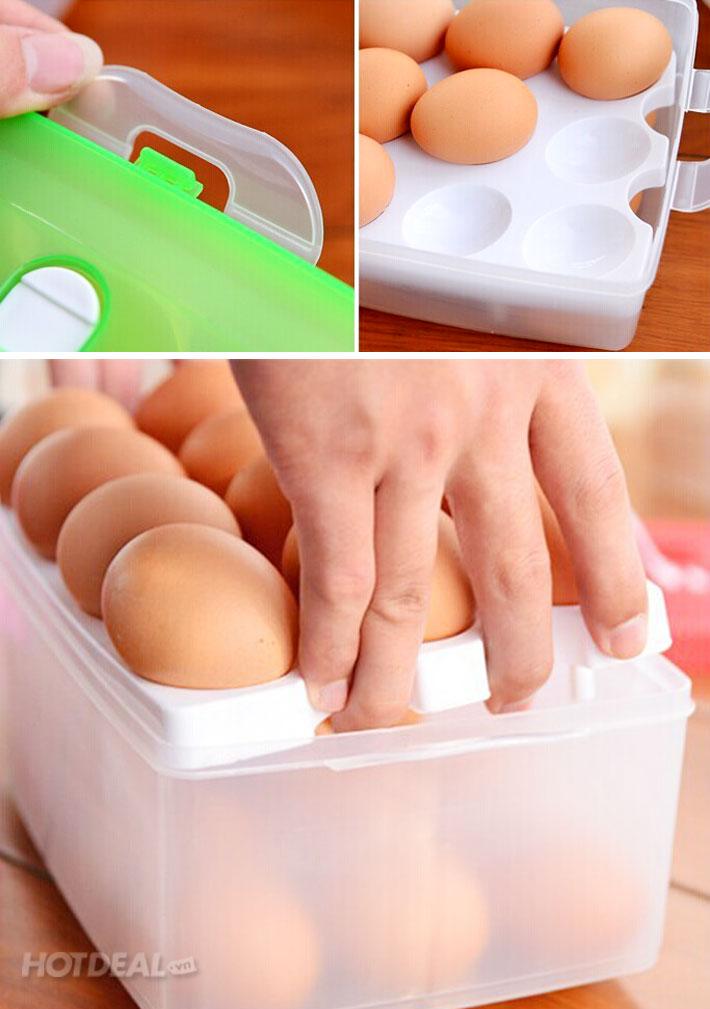 Hộp Đựng Trứng Chống Sốc 24 Quả