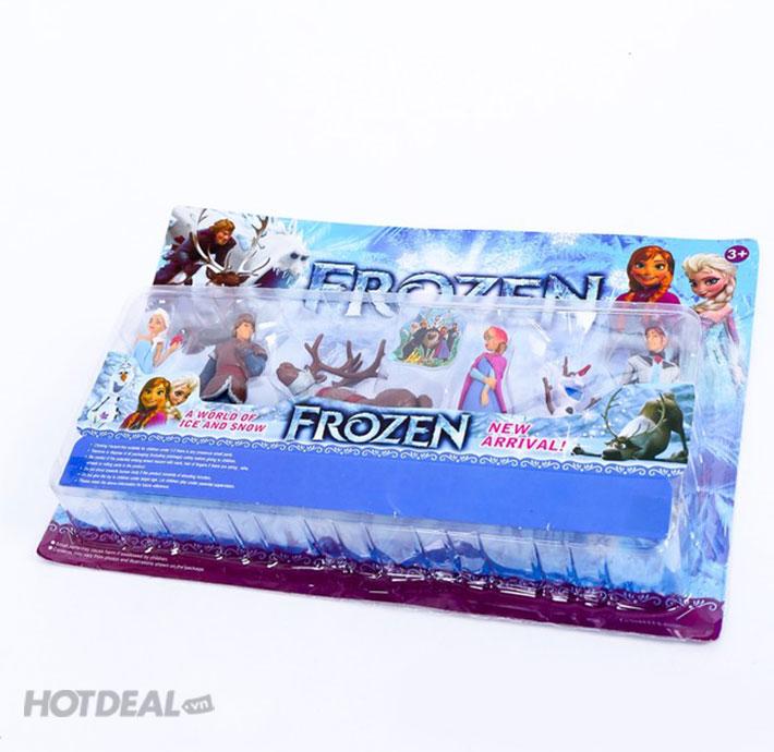 Bộ Đồ Chơi Búp Bê Công Chúa Frozen