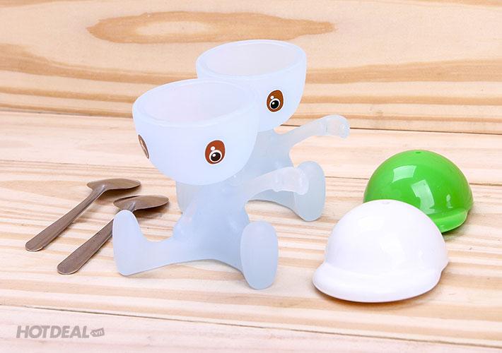 Combo 02 Dụng Cụ Ăn Trứng Vịt Lộn Ngộ Nghĩnh