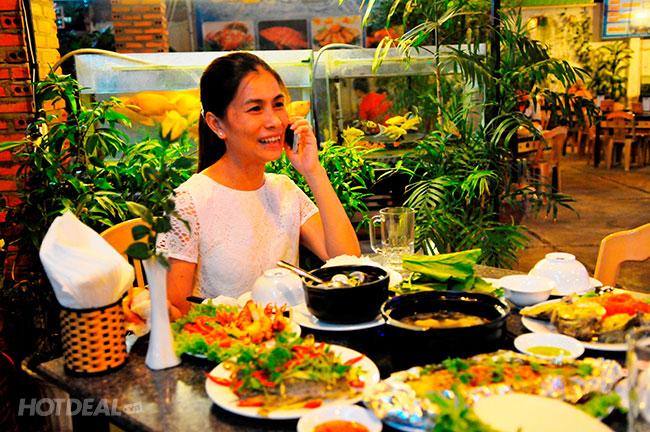 Viễn Đông Nha Trang 3* 2N1Đ + Ăn Sáng + Ăn Tối Hải Sản Nướng + Tắm Khoáng Nóng