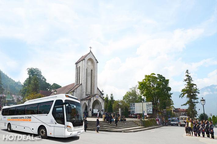 Khứ Hồi HN – SAPA – HN Bằng Xe Bus Good Morning Sapa Chất Lượng Cao, Giá Rẻ Cho 1 Người
