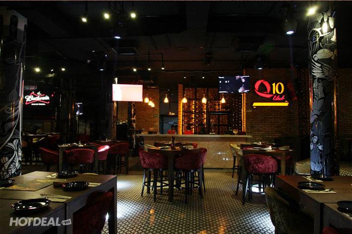 Thưởng Thức Đêm Nhạc Acoustic & Ẩm Thực Châu Âu Tại Q10 Restaurant