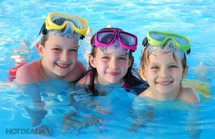 Trải Nghiệm 3 Lượt Bơi - Xông Hơi Tại Tầng Cao Nhất Rainbow Linh Đàm