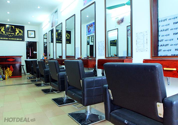 Làm Tóc Trọn Gói Tại Tuấn Anh Hair Salon