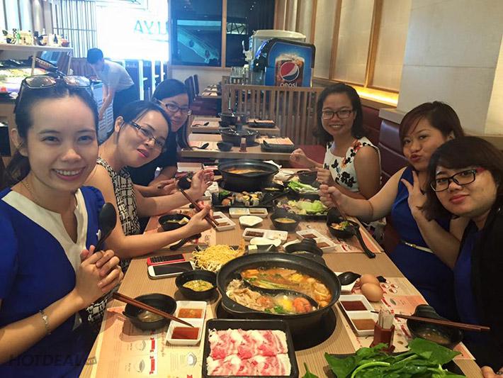 Shabu Ya SC Vivo City - Buffet Tối Lẩu Nhật, Bò Mỹ, Sushi, Free Nước Uống, Kem Cao Cấp