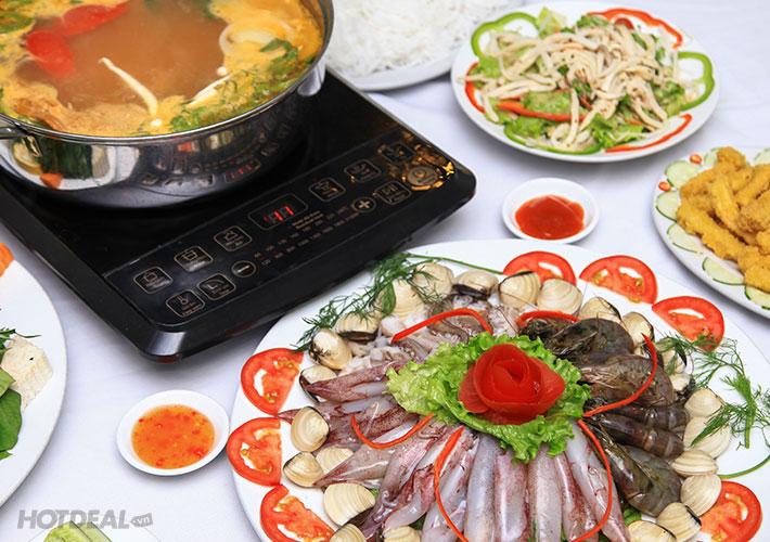 Lẩu Nấm Hấp Dẫn Cho 4N Tại NH Nấm Đại Việt