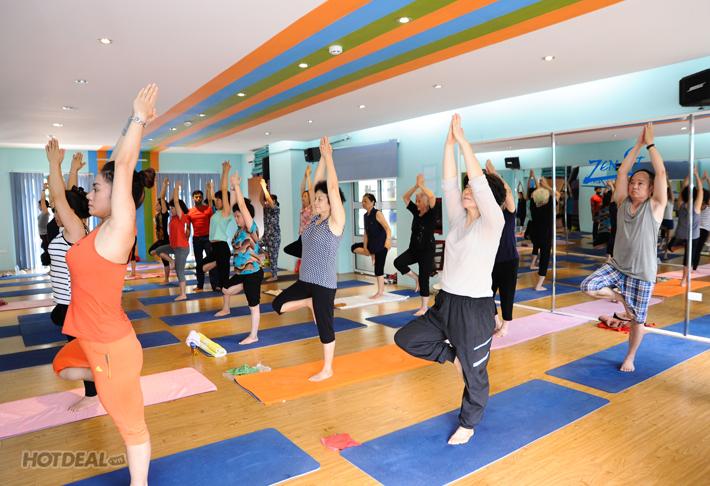KH Yoga 7 Buổi 100% Giáo Viên Ấn Độ -  Zenfit Yoga & Dance Center