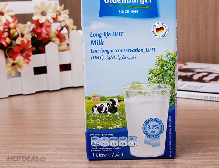 Combo 6 Hộp Sữa Tiệt Trùng Nguyên Kem 3,1% Oldenburger