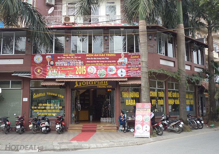 Set Chân Giò Hầm Sốt Kem Tại NH Gold Malt Trung Yên