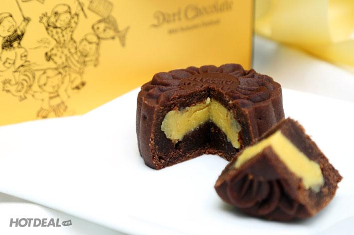 Hộp 2 Bánh Trung Thu Sô-cô-la Của  D'Art Chocolate