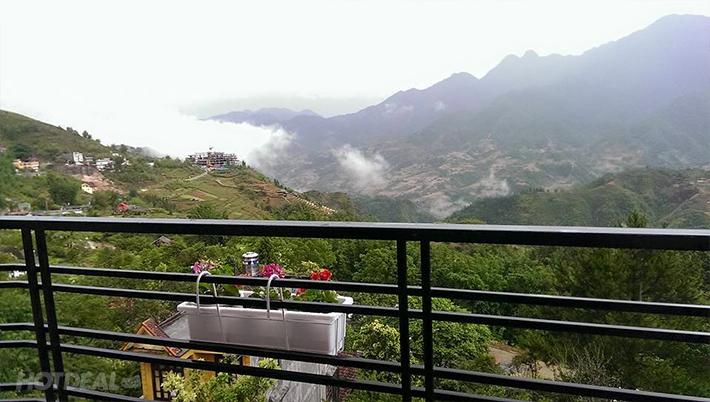 Sapa - Cosiana Hotel 3* ( Phòng Superior Moutain View)