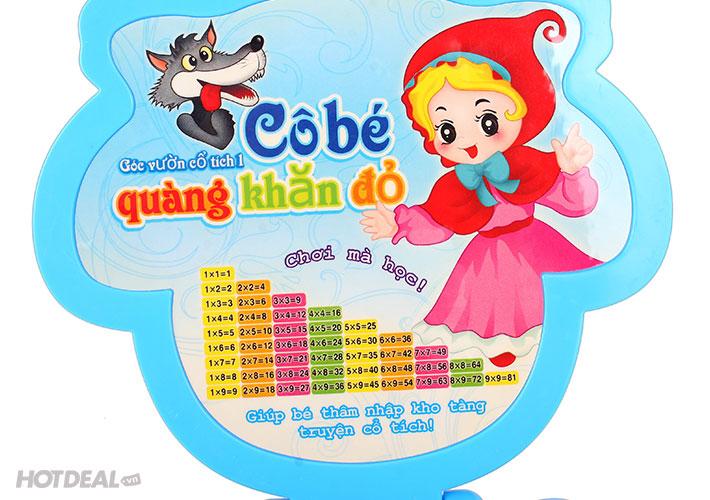 Máy Kể Chuyện Tiếng Việt Cô Bé Quàng Khăn Đỏ - Giúp Bé Chơi Mà Học