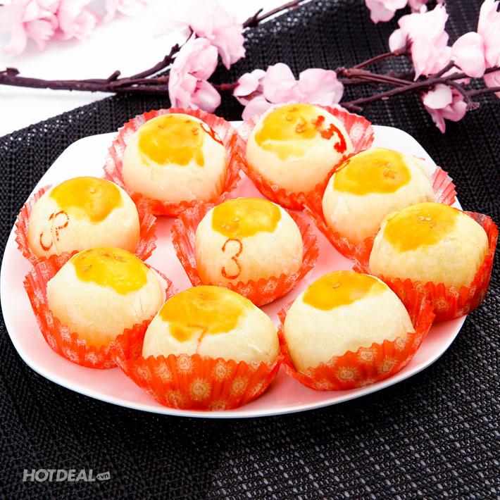 Hộp 09 Bánh Trung Thu Trăng Vàng Hương Vị Mới Lạ - Đức Thắng