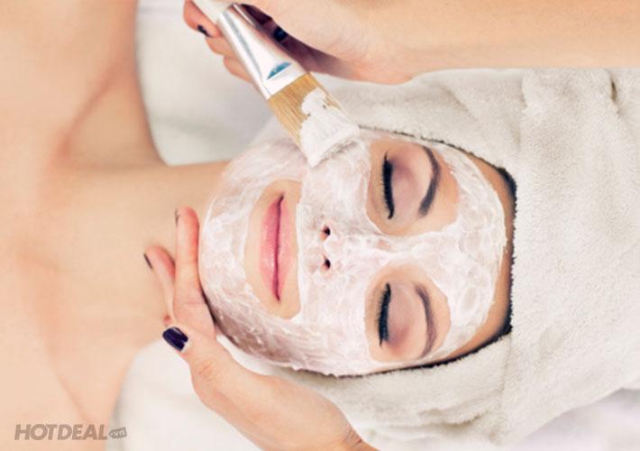 Trắng Sáng Da Mặt Công Nghệ Silk Peel, Foot Massage - Jollied Spa