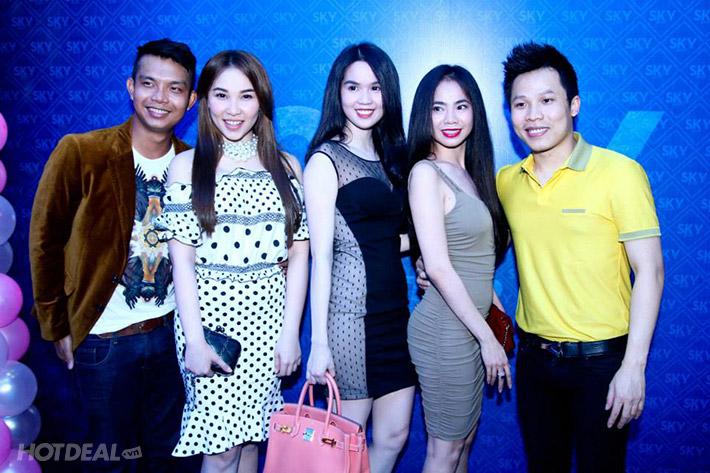02 Giờ Hát + 01 Dĩa Trái Cây Tại Sky Karaoke Sang Trọng Bậc Nhất Sài Gòn