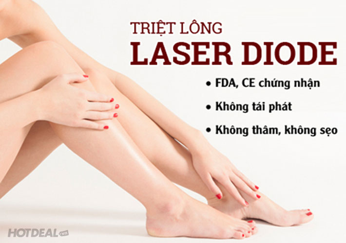 Triệt Lông Vĩnh Viễn Trọn Gói Công Nghệ Diode Laser Tại Hana Spa