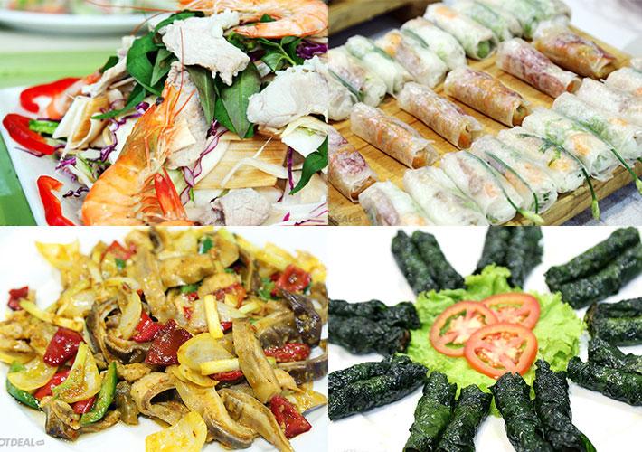 Buffet Trưa Ốc, Hải Sản Và Lẩu Tại Nhà Hàng Hương Đồng