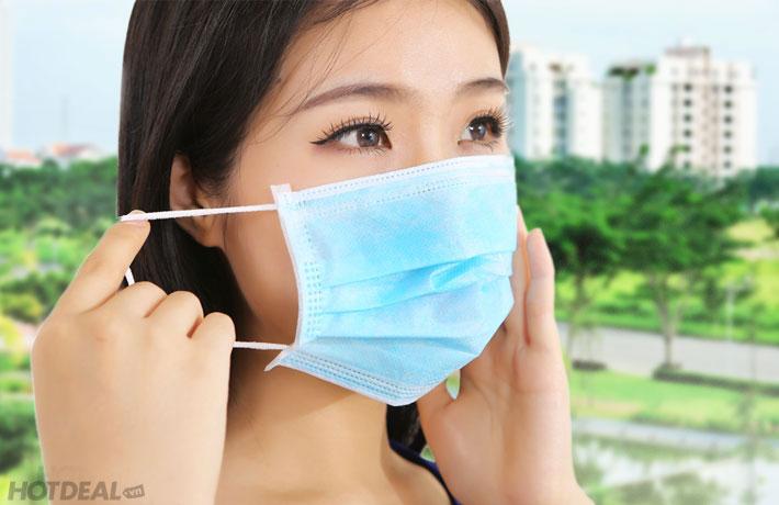 Combo 4 Túi Khẩu Trang Y Tế Face Mask 120 Chiếc