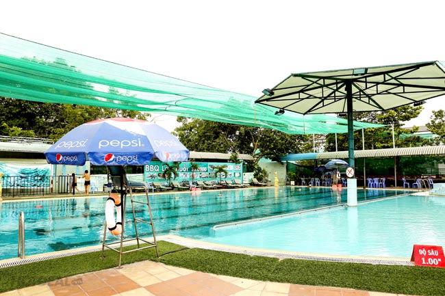 Combo 1 Vé Bơi + Tập Gym + Nước Tự Chọn Cho 1 Người Tại Hồ Bơi Kỳ Hòa 2