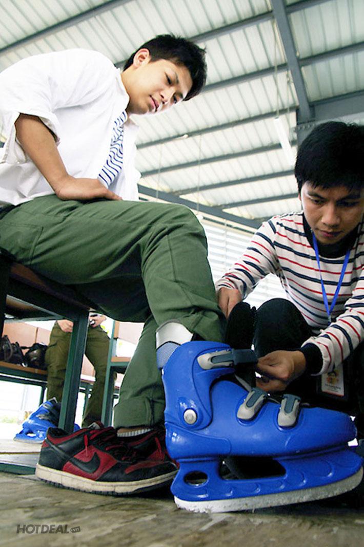 Trượt Băng/ Hockey Hoặc Bắn Cung Tại KVC Skateland At Saigon