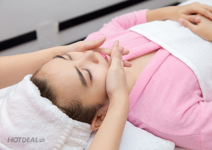 Thư Giãn Toàn Thân Với Gói Dịch Vụ: Massage Body Đá Nóng + Đắp Mặt Nạ + Ngâm Chân Và Massage Chân + Tắm Dưỡng Cám Gạo Tại Pinky Spa