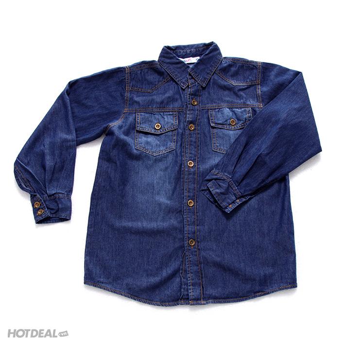 O s mi jeans tay d i cho b trai th babykids size l n for Html th width