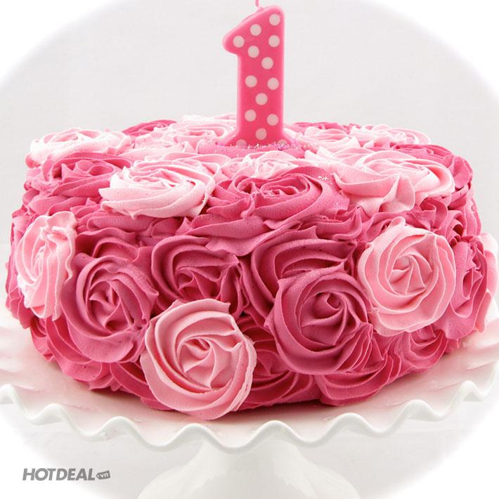 Rosette Mini Rose Cake Baskin Robbins